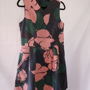 Gap floral sleeveless dress size 14